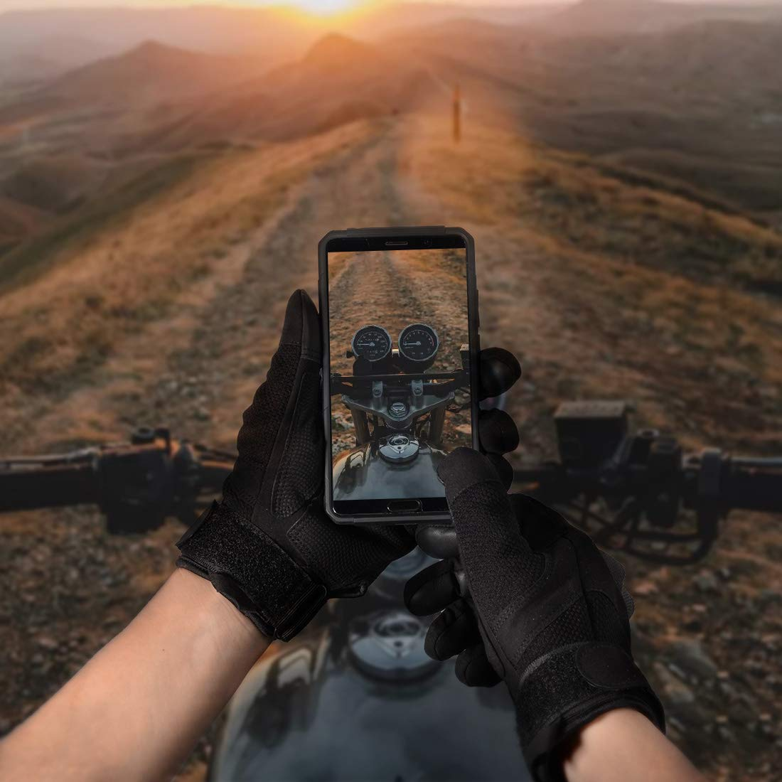milit/ärisch Touchscreen Taktische Handschuhe f/ür Jede Jahreszeit Scooter bequem Motorradhandschuhe
