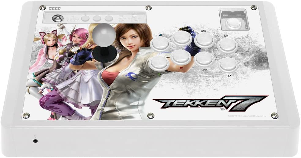 HORI Real Arcade Pro Hayabusa Tekken 7 Edition Fight Stick for Xbox One Officially Licensed by Microsoft Xbox One