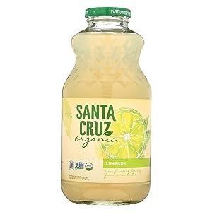 Santa Cruz Organic Limeade Juice, 32 Fluid Ounce - 12 per case