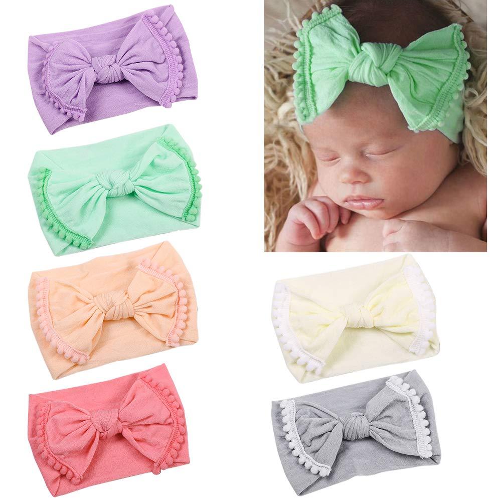 Jmitha Baby Headbands Girls Hair Bows Newborn Headbands