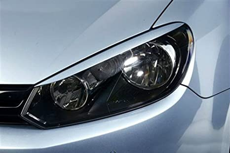 Amazon com: Front Headlight Eyelids For VW Golf 6 Golf6 MK6 2008