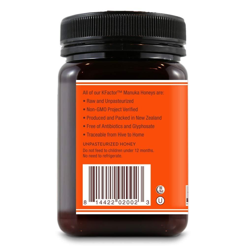 Wedderspoon Raw Premium Manuka Honey KFactor 16, 17.6 Oz, Unpasteurized, Genuine New Zealand Honey, Multi-Functional, Non-GMO Superfood, 3 Pack by Wedderspoon (Image #4)
