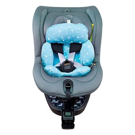 JANABEBE Funda para reductor Be Cool Nadò para silla de coche (Blue sparkles)