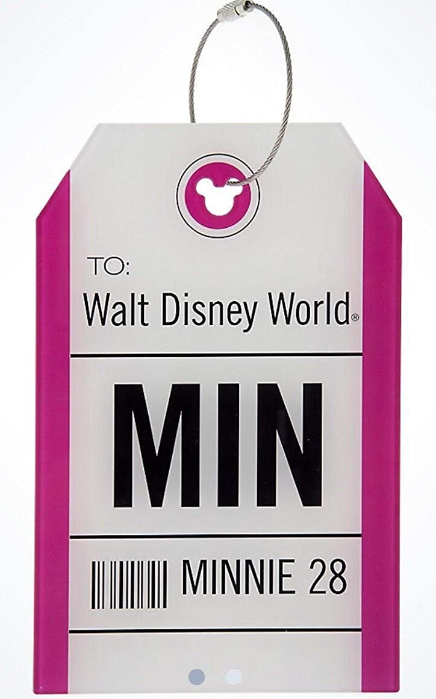 Disney Parks Walt Disney World MIN Minnie Mouse Luggage Tag