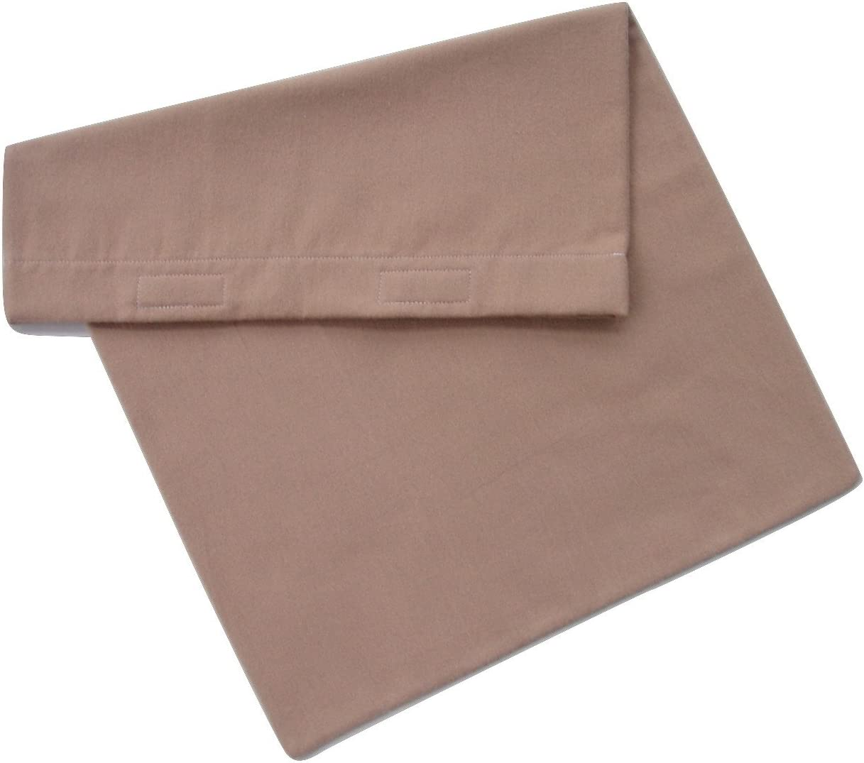"""Flannel Replacement Cover for 12""""x15"""" Heating Pad (tan)"""