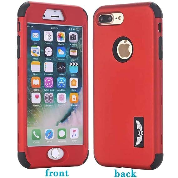 iPhone 7 Plus Case, AOKER Bumper Case Shock Absorbing Hard Hybrid Slim Thin Cute Cover