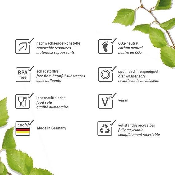 Bio Nana Pan Caja Mandarin/ /Rollo de caja de materias primas renovables ajaa