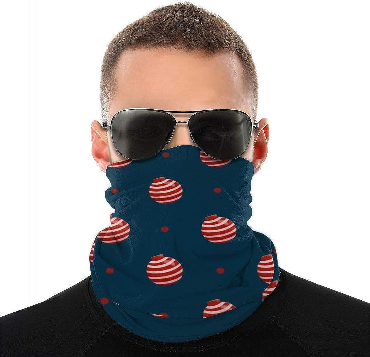Daily Bandana Headband Set Cream Ice Cream Printing Sport Sun Protection Windproof Dust Face Scarf Headdress