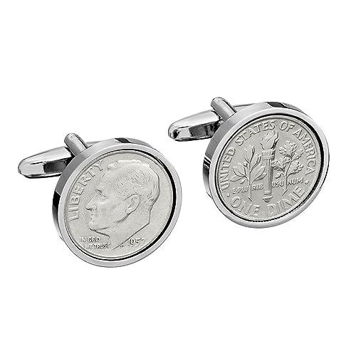 Amazon.com: 1958 US auténtica moneda gemelos – 60 cumpleaños ...
