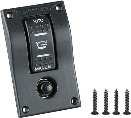 Automatic Submersible Boat Bilge Water Pump 12v 750gph /& LED Rocker Switch Panel
