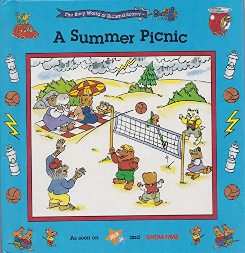 A Summer Picnic (The Busy World of Richard Scarry) (The Busy World Of Richard Scarry Game)