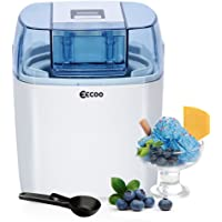 Eismaschine,Ice Cream Maker,Frozen Yoghurt Maschine,Eismaschinen,Yogurt Maker,1 5 liter Speiseeismaschine mit Timer, inkl. Rezeptvorschläge, Weiß