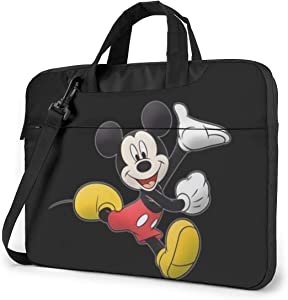 15.6 Inch Laptop Bag Mickey and Minnie Mouse Laptop Briefcase Shoulder Messenger Bag Case Sleeve