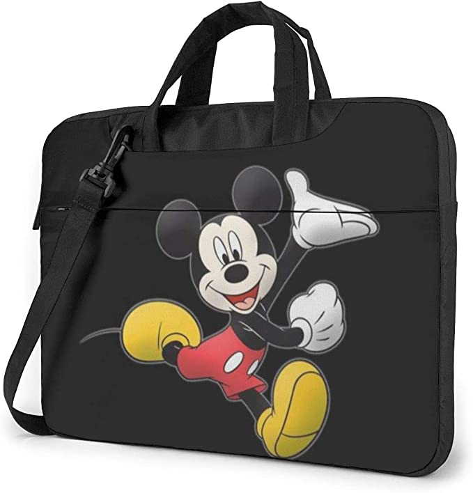 Mickey-Mouse 13-Inch to 15-Inch Laptop Sleeve Case Waterproof Notebook Computer Bag-Light and Comfortable Tablet Briefcase-Band Zipper Portable Handbag 13 Inch