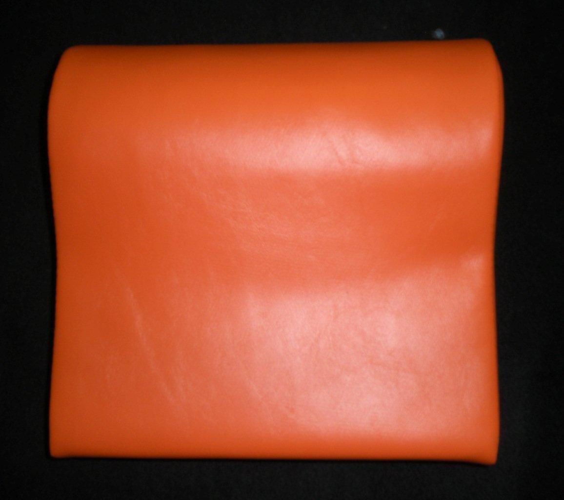 Deluxe Orange Contour Vinyl Tanning Bed Pillow