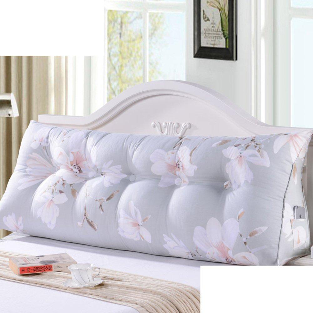 bedside back cushion/triangle sofa big backrest/soft bag tatami backrest/throw pillows on the bed/waist cushion /waist cushion-F 60x21x45cm(24x8x18inch)