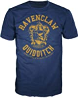 Harry Potter Ravenclaw Quidditch Mens Hogwarts T-shirt