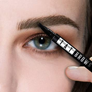 Tatbrow - Eyebrow Tattoo Pen, Microblading Eyebrow Pencil with a Micro-Fork  Tip Applicator Creates Natural