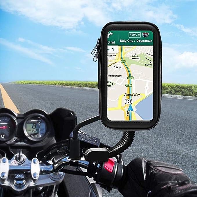 Unibelin Motorrad Handyhalterung Wasserdicht Motorrad Elektronik