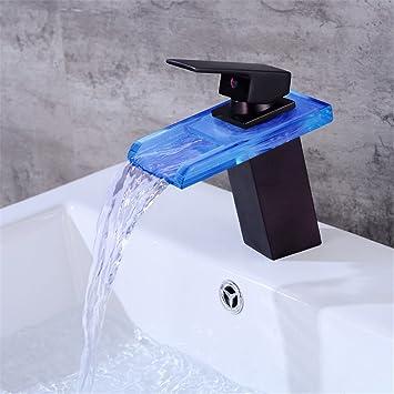 bmei salle de bains cascade robinet LED robinet. Cascade Bassin ...