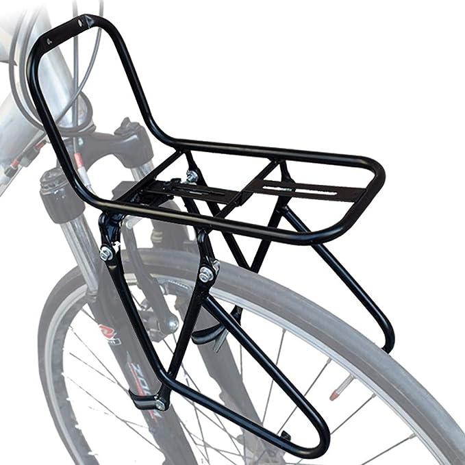 portapacchi anteriore mu-01 in acciaio attacco freni v-brake RIDEWILL BIKE bicic