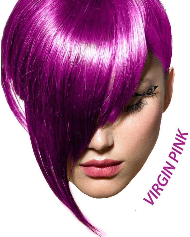 Arctic Fox Tinte semipermanente para el cabello, 4 onzas (rosa virgen) por Arctic Fox