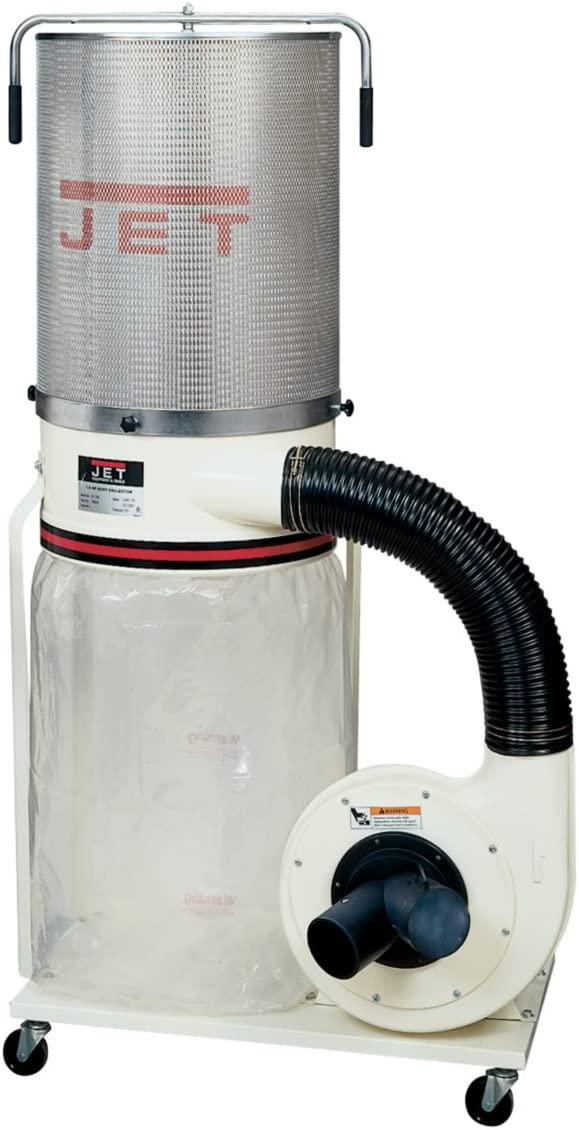 Jet DC-1200VX-CK1 Dust Collector 2HP 1PH 230-Volt 2-Micron Canister Kit