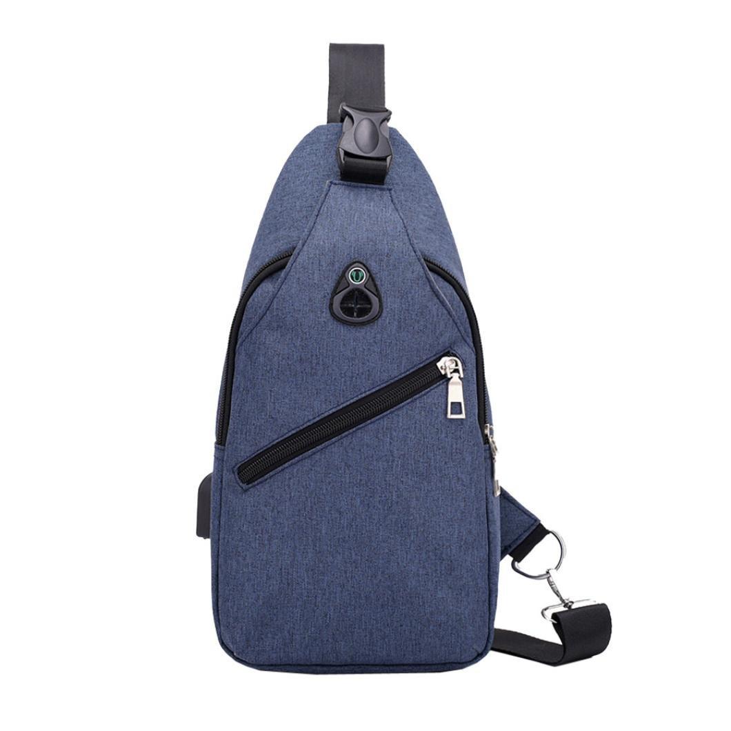 Ansenesna Taschen Herren Canvas USB Klein Umhängetaschen Outdoor Wasserdicht Männer Messenger Kleintaschen ZY-ZQ-189