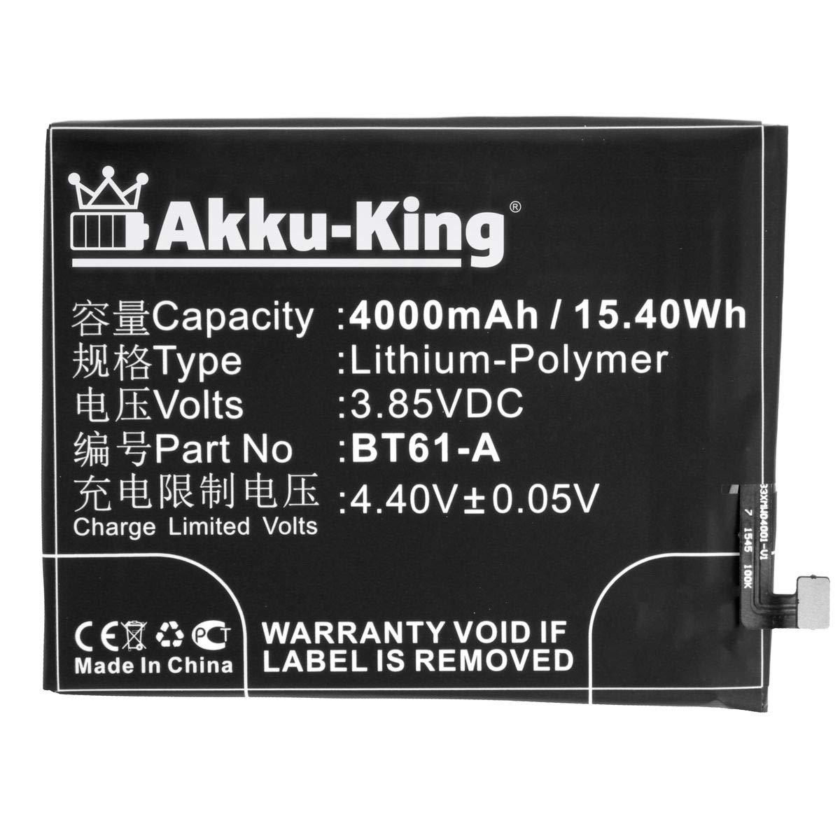 Akku-King Batería para Meizu M3 Note, M3 Note Dual SIM, M3 ...
