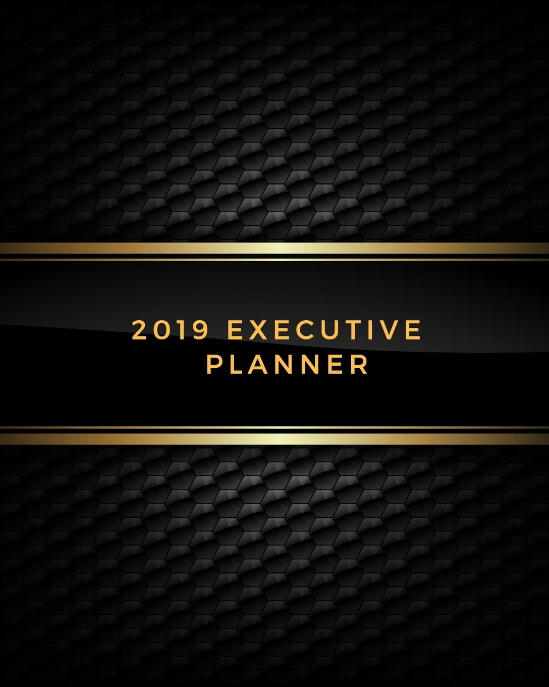 2019 Executive Planner: Weekly & Monthly Calendar Schedule ...