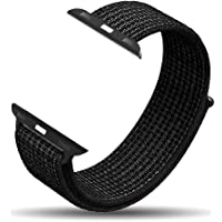 amBand Compatible for Apple Watch Sport Loop Band 38mm 40mm 42mm  44mm, Lightweight Breathable Nylon for Women Men Replacement Band Compatible for iWatch  Series 1, Series 2, Series 3, Series 4, Sport, Edition