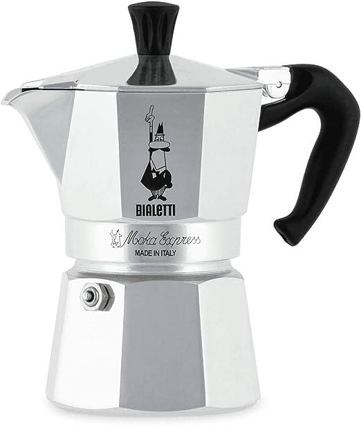 Amazon.com: Bialetti Moka Express Cafetera de espresso con ...