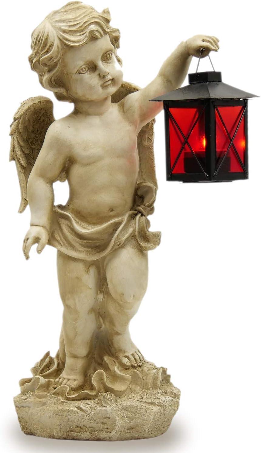 Grabengel Grabschmuck  Engel Figur Grabdeko Friedhof für Grablampe   NEU