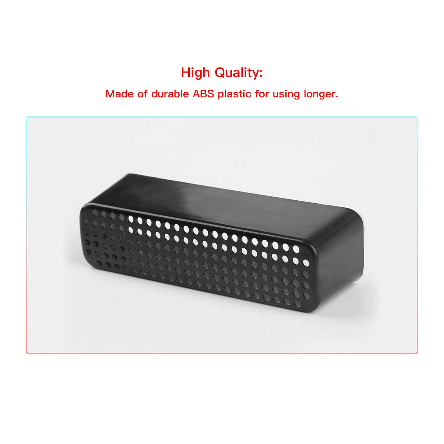 Protective Outlet Grille for Back Seat Air Conditioner Vent 2 PCS CDEFG Car Floor A//C Air Vent Cover for 2018-2019 C-HR CHR