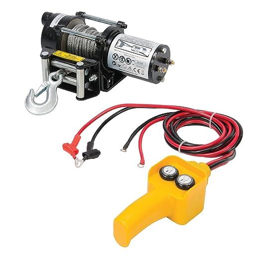 9 opinioni per Silverline tools 748850- 12v paranco elettrico (909 kg)