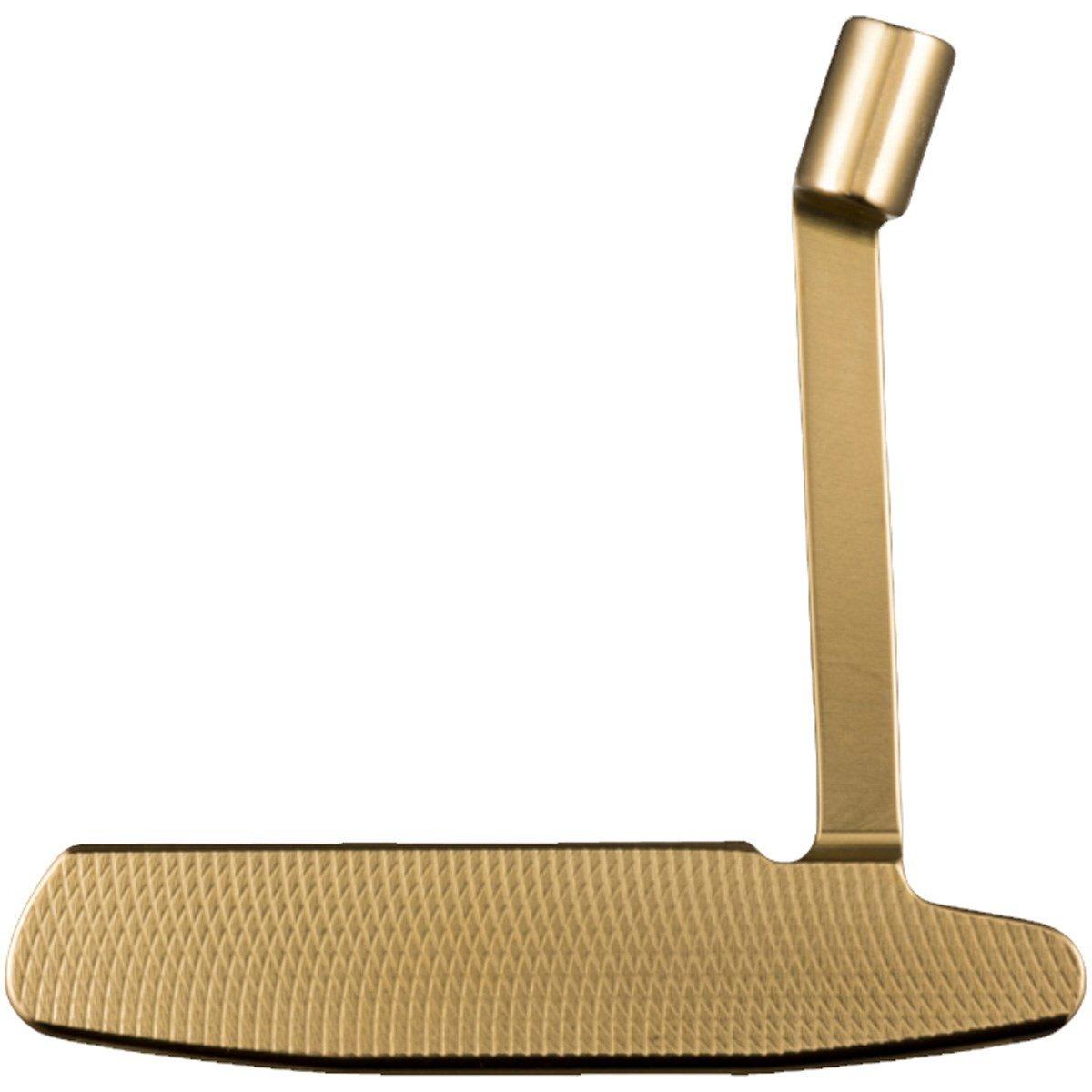 クロノスゴルフ kronosgolf クロノスパター TROMBONE 17 Gold パター シャフト:カーボン(ハード) B077FXHQNL  34.0 インチ