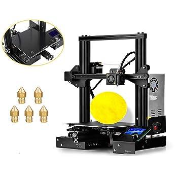 ZIHENGUO Impresora 3D Ender-3X, Kit de impresión de ...