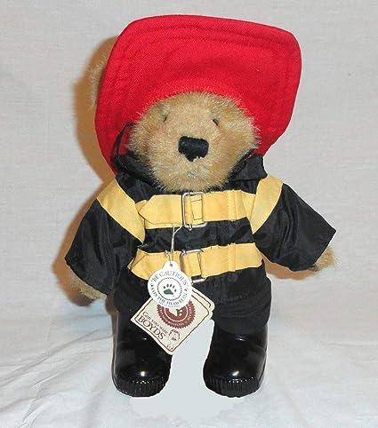 ff0062a0323 Amazon.com: Boyds Bears Inc Buckley 917373 Fireman Bear: Toys & Games