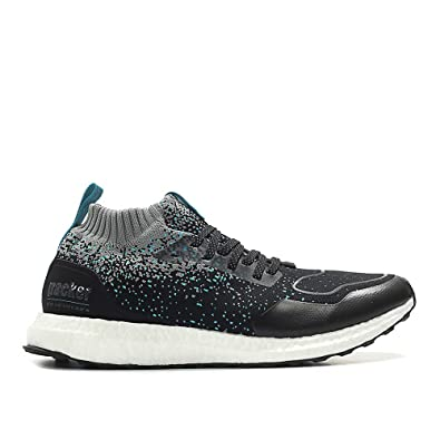 e886dcb6abc adidas Consortium x Packer x Solebox Men Ultraboost Mid Sneaker Exchange  Black core Black Energy Blue