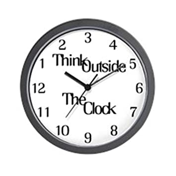 "CafePress – thinkoutsidetheclock. PNG – Unique decorative 10 ""reloj ..."