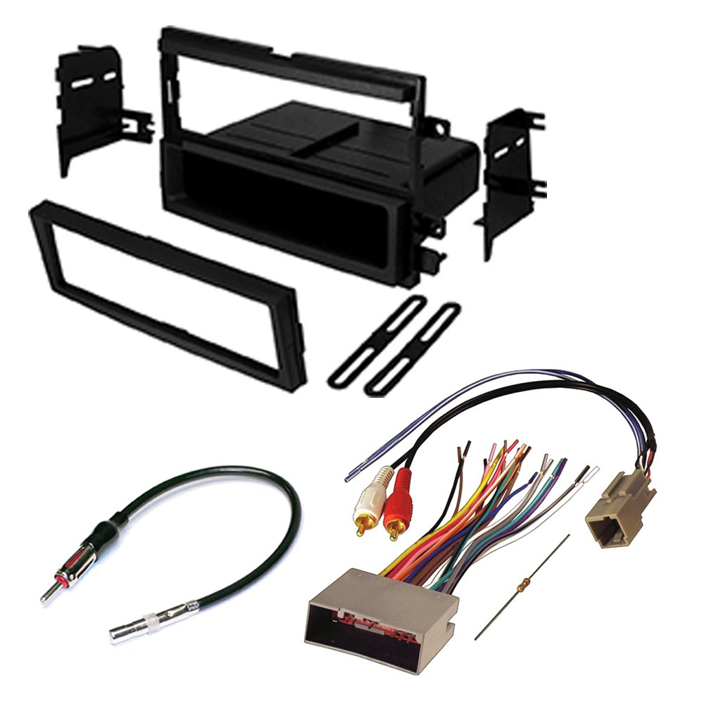 Ford F250 F350 F450 Super Duty Car Radio Stereo 2004 Wiring Harness Kit Dash Installation Mounting Antenna Electronics