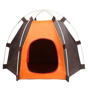 Mascota Casa, plegable, interior y exterior Moggies cat house, portátil tienda de campaña