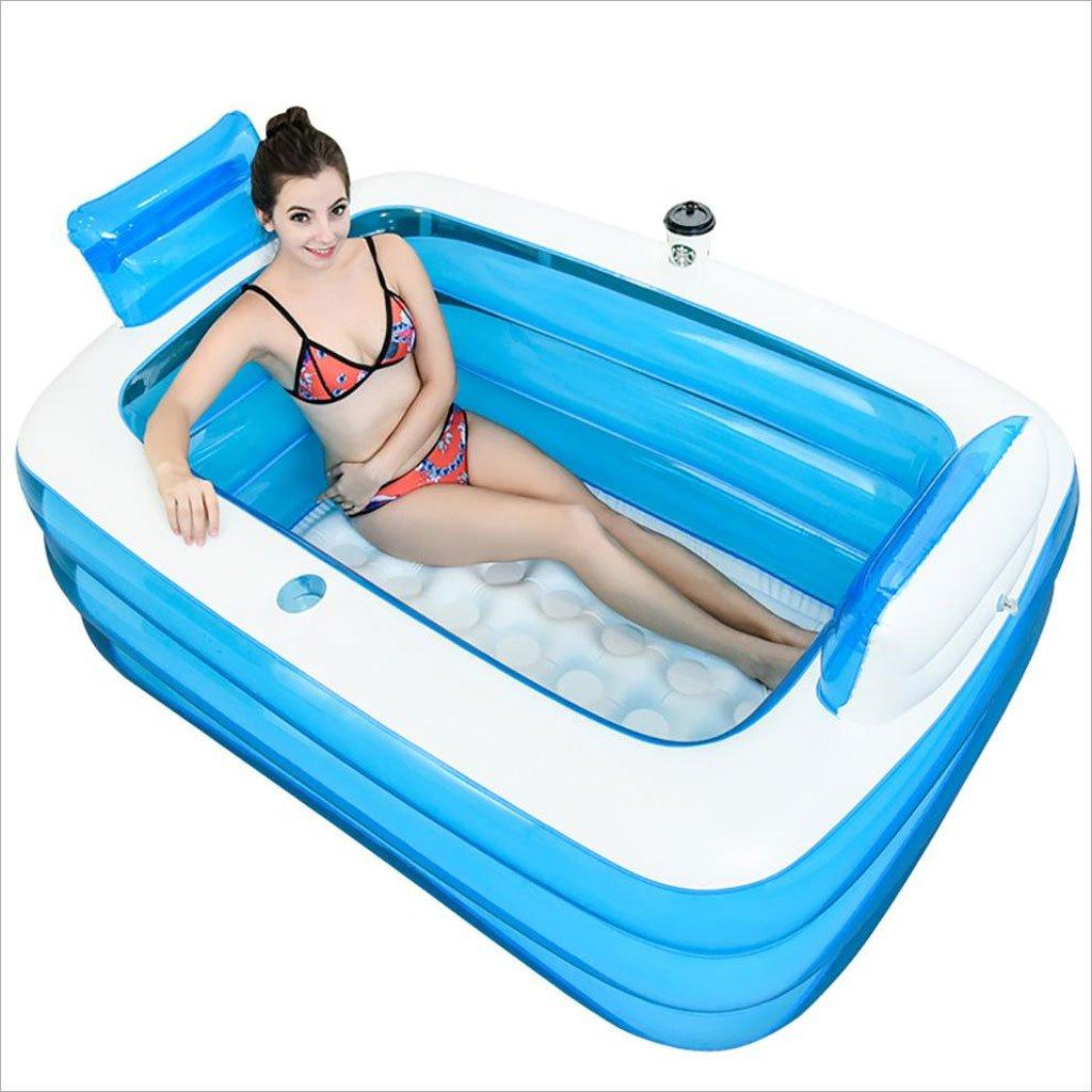 LQQGXL vasca Vasca da bagno gonfiabile addensante per adulti Vasca da bagno pieghevole Vasca da bagno in plastica Vasca da bagno gonfiabile