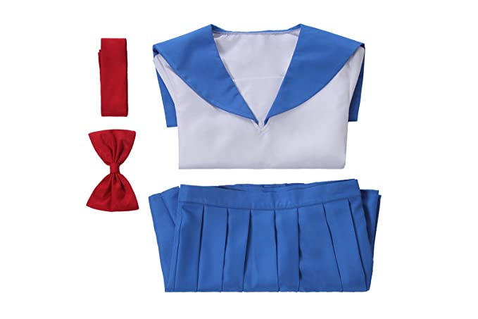Amazon.com: cosbeny Sailor traje japonés uniforme escolar ...