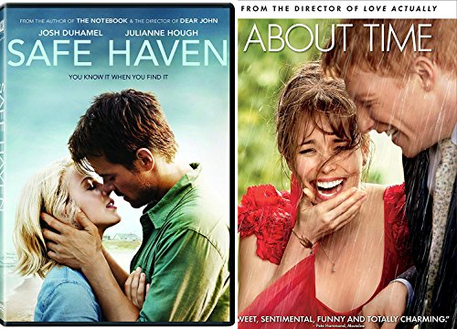 Safe Haven + About Time Love Romance Movies DVD ()