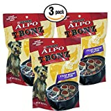 little bites lamb and rice - TBonz Filet Mignon 10oz Re-sealable Dog Treat Pouch 3 Pack by Alpo