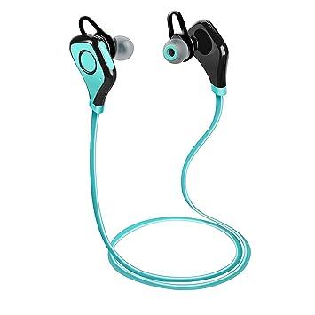 Auriculares Bluetooth Tenswall cancelación de ruido auriculares estéreo con micrófono deportes/ejercicio sumergible auriculares inalámbricos
