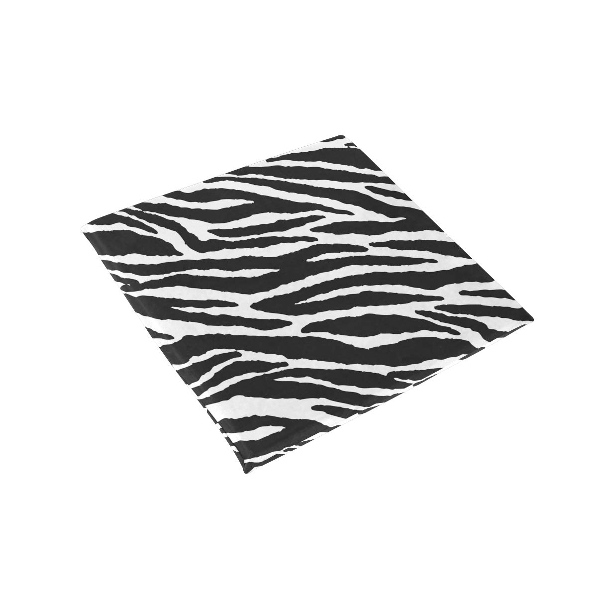 TSWEETHOME Comfort Memory Foam Square Chair Cushion Seat Cushion with Animal Skins Zebra Print Chair Pads for Floors Dining Office Chairs by TSWEETHOME (Image #3)