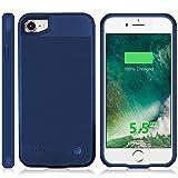 juice pack plus iphone 6 - iPhone 6 Plus 6s Plus Battery Case, 3600mAh Ultra Slim Power Charging Case for iPhone 6 Plus 6s Plus(5.5 inch) Extended Battery Charger Case Juice Pack Air -Blue