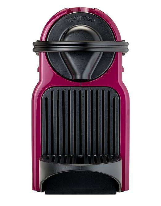 Nespresso Inissia café Máquina de cápsulas por KRUPS - Fucsia (Producto con enchufe de UK): Amazon.es: Hogar